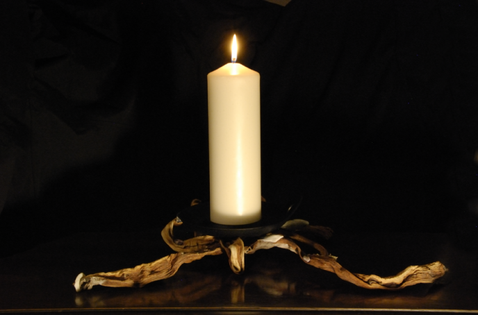 Spider Candle Holder Front